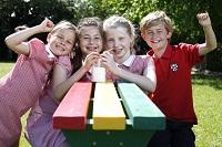 Barratt Developments photo - school children