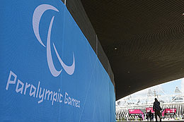 Photo of Paralympics logo. Picture: AP/PA