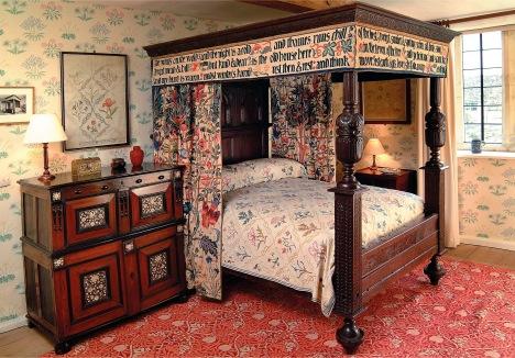 William Morris's Bed