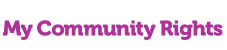 My community rights