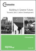 Building a Greener Future: Towards Zero Carbon Development - Consultation