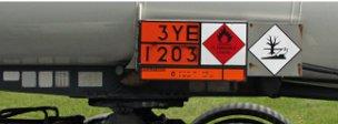 Tanker sign