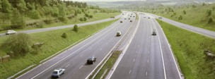 M1 Motorway, south of Junction 39, West Yorkshire