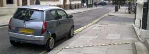 Electric car charging Queen Anne's Gate