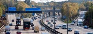Roads motorway traffic