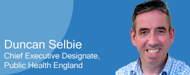 Duncan Selbie, Cheif Executive Designate, Public Health England