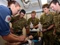 Medical Training Onboard HMS Diamond