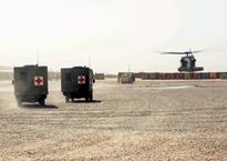 Medics in action