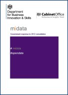 midata: government response to 2012 consultation