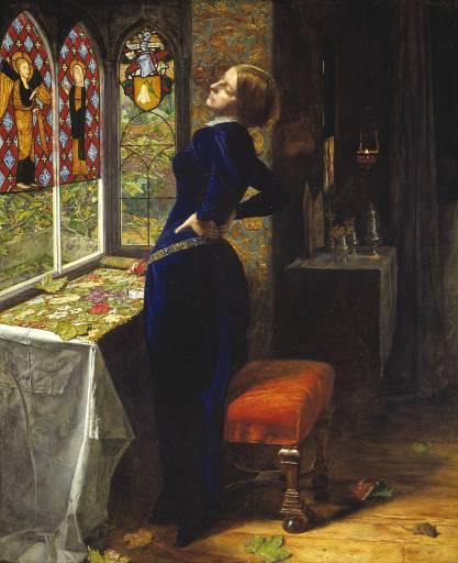 Sir John Everett Millais, Bt, 'Mariana' 1851