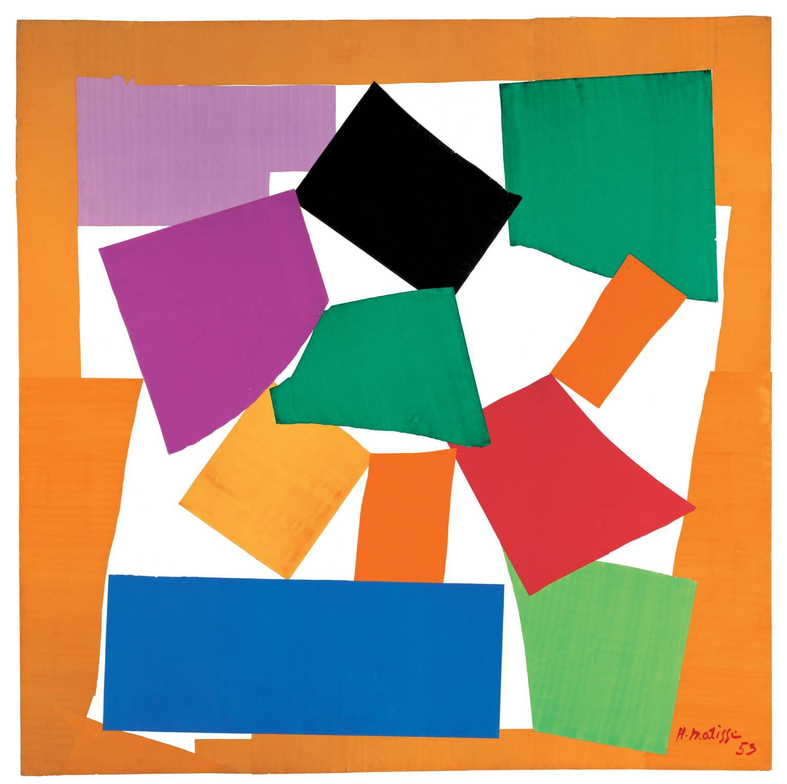 Henri Matisse, 'The Snail' 1953