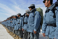 Afghan National Police Graduation