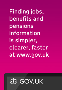 Finding jobs, benefits and pensions information is simpler, clearer, faster at www.gov.uk