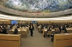 The Human Rights Council chamber in Geneva