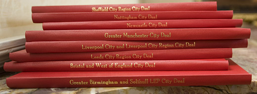 The eight cities that have signed the city deal