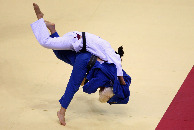 Judo at the Paralympic games in Beijing, Judo (Jamie McDonald/Getty Images)
