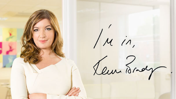 Karren Brady says: I'm in