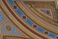 Ceiling in the FCO building, King Charles Street