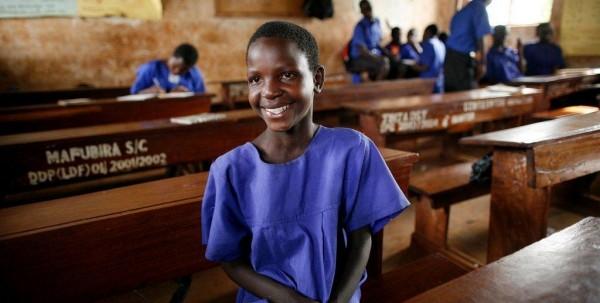 African school grl