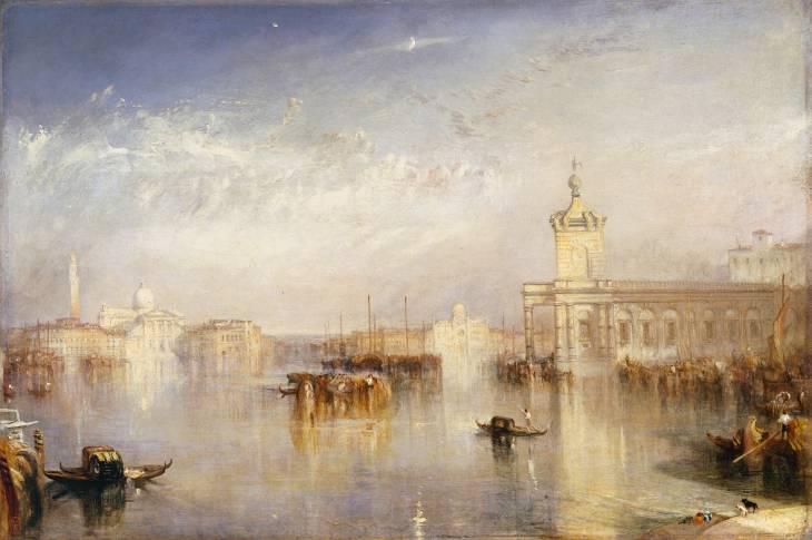 Joseph Mallord William Turner, 'The Dogano, San Giorgio, Citella, from the Steps of the Europa' exhibited 1842