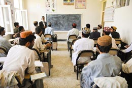Classroom in Afghanistan