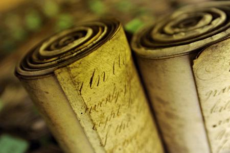 Law scrolls; Parliament copyright