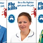 Poster of flu fighter campaign