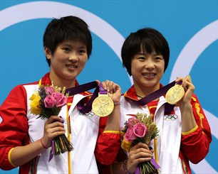 Chen Roulin and Hao Wang take Diving gold