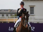 Celebrating a second Equestrian gold