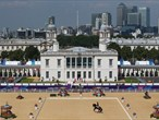 Spectacular backdrop for Equestrian on Day 13 of the Games