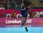 Nely Alberto Francisca of Spain celebrates after a point