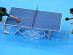 Day 3: Table Tennis action from ExCeL