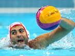 Javier Garcia Gadea of Spain competes in the men's classification 5th-6th place match