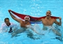 Croatia celebrate gold in the men's Water Polo