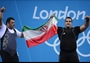 Gold and silver for Iran in the men's +105kg Weightlifting final