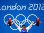 Day 9: action from the women's Weightlifting finals