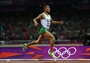 Taoufik Makhloufi of Algeria wins the gold in the men's 1500m Final