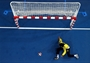 Cristina Direito of Angola makes a save