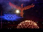 The Olympic spirit rises out of the Flame
