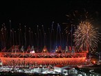 The London 2012 Olympic Closing Ceremony comes to an end