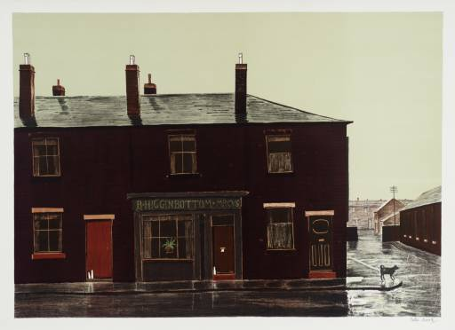 Peter Brook, 'FEBRUARY Fill-Dyke in Wigan' 1976-7