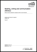 Reading, writing and communication (literacy)