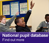 National pupil database - Find out more