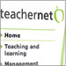 Closeup of Teachernet website