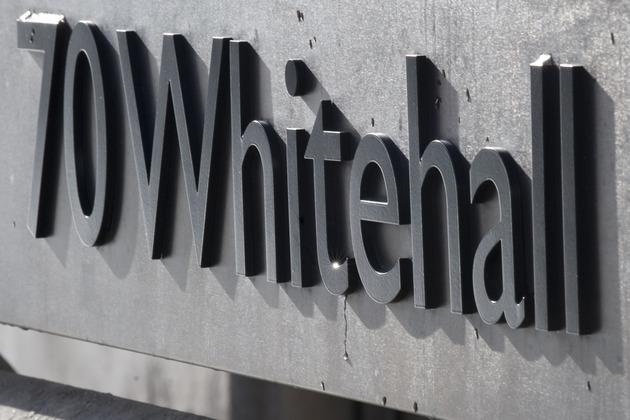 Whitehall. Photo: Crown copyright.