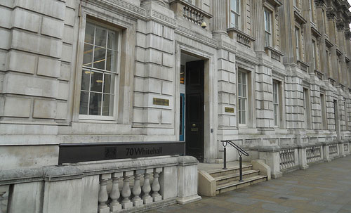 Cabinet Office - exterior