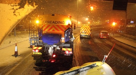 road users warned of another blast of winter