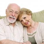 Senior Couple At Home