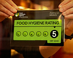 food hygiene rating scheme