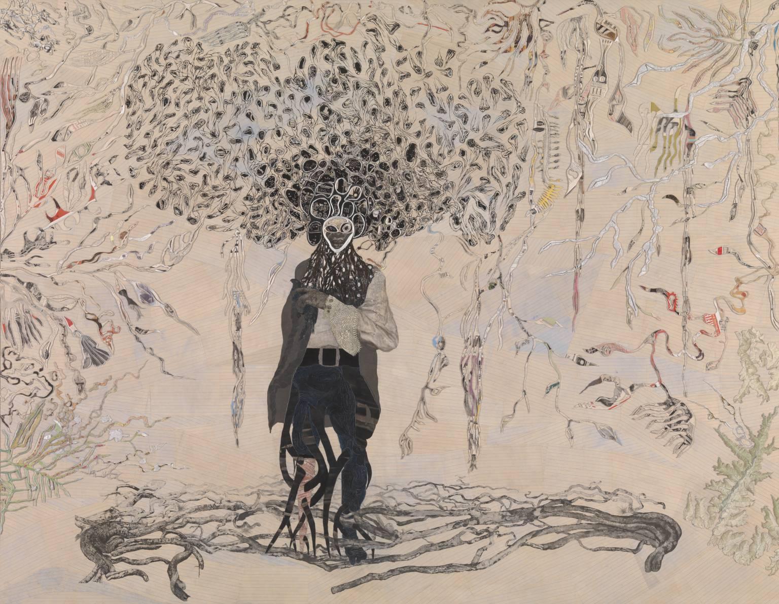 Ellen Gallagher, 'Bird in Hand' 2006
